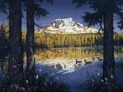 Mt Adams-Jeff Tift-Giclee Print