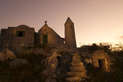 Mt. Alvernia Hermitage and Father Jerome's Tomb Atop Como Hill-Jad Davenport-Photographic Print