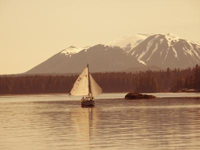 Mt. Edgecumbe, Sitka, Alaska, USA-Douglas Peebles-Photographic Print