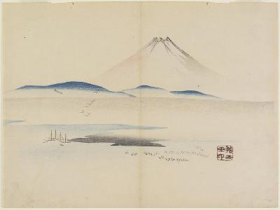 Mt. Fuji, C. 1830- Hogyoku-Giclee Print