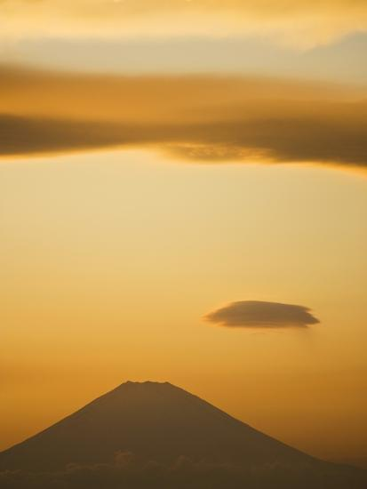 Mt. Fuji from Arasaki Point--Photographic Print