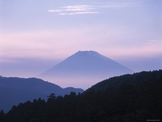 Mt. Fuji, Japan-James Montgomery Flagg-Photographic Print