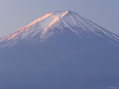 Mt. Fuji, Kansai Region, Honshu, Japan-Peter Adams-Photographic Print