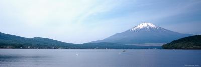 Mt Fuji, Yamanaka Lake, Yamanashi Prefecture, Chubu Region, Japan--Photographic Print