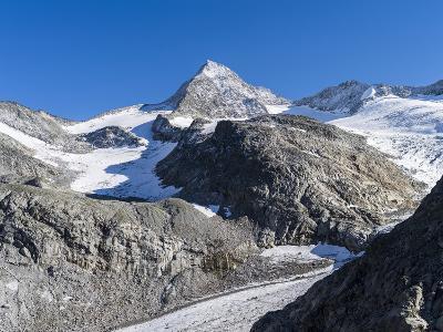 Mt. Grosser Geiger, Nationalpark Hohe Tauern, Salzburg, Austria-Martin Zwick-Photographic Print
