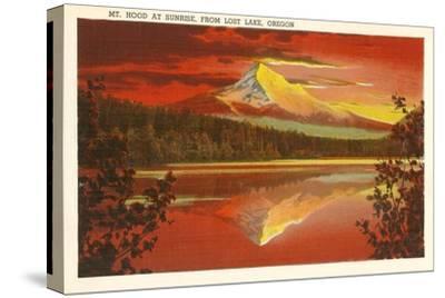 Mt. Hood at Sunset, Lost Lake, Oregon