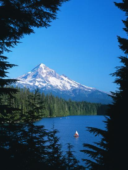 Mt. Hood VI-Ike Leahy-Photographic Print