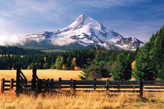 Mt. Hood X-Ike Leahy-Photographic Print