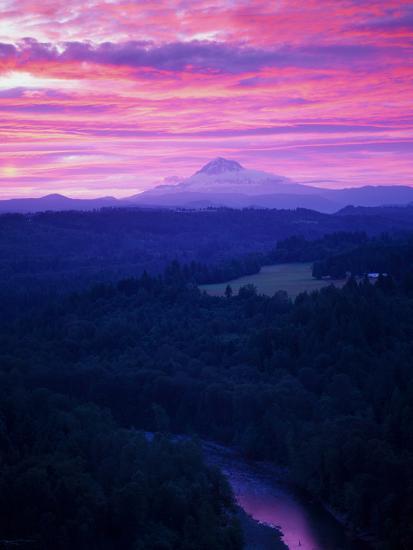 Mt. Hood XVII-Ike Leahy-Photographic Print