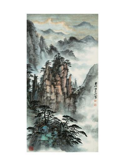 Mt. Huang No. 24-Zishen Zhang-Giclee Print