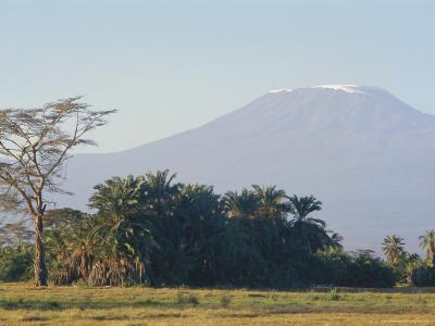 Mt. Kilimanjaro, Amboseli, Kenya, Africa-Robert Harding-Photographic Print