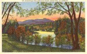 Mt. Mansfield, Green Mountains, Vermont
