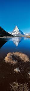 Mt Matterhorn and Riffel Lake Switzerland