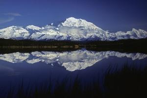 Mt, Mckinley (Denali) from Reflection Pond, Denali