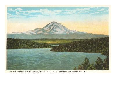 Mt. Rainier, Washington--Art Print