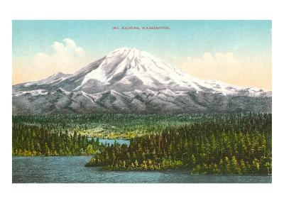Mt. Rainier, Washington--Art Print