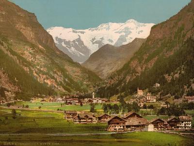 Mt. Rosa, Gressony (I.E., Gressoney), Italy, C.1890-C.1900--Giclee Print
