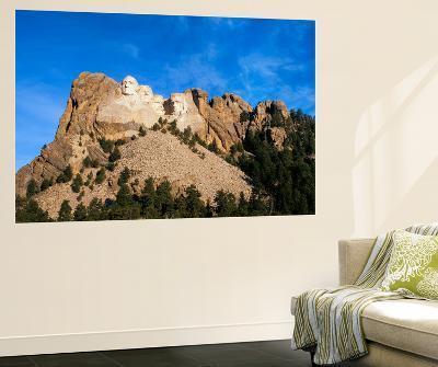 Mt Rushmore National Monument and Black Hills, Keystone, South Dakota, USA-Walter Bibikow-Wall Mural