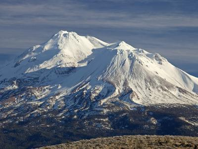 Mt Shasta, Dormant Stratovolcano in Northern California, Showing at Least Three of the Four-Marli Miller-Photographic Print
