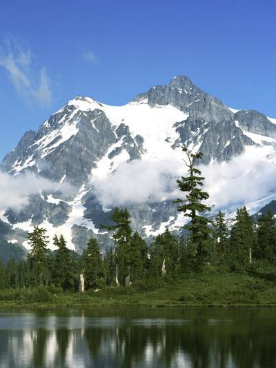 Mt. Shuksan, North Cascades National Park, Washington, USA-Charles Gurche-Photographic Print