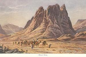 Mt. Sinai, Israelites Wandering in the Wilderness