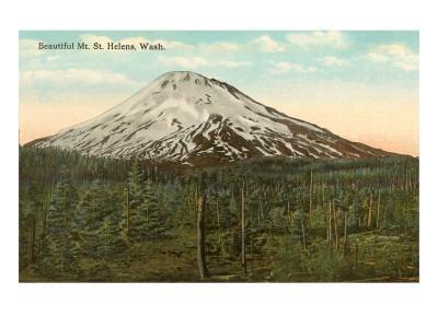 Mt. St. Helens, Washington--Art Print