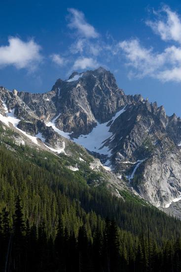 Mt. Stuart, Okanogan-Wenatchee National Forest, Washington, USA-Roddy Scheer-Photographic Print