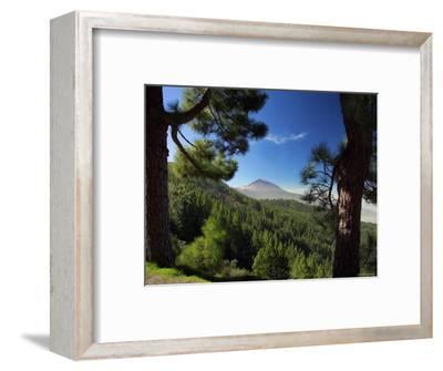 Mt. Teide, Tenerife, Canary Islands, Spain-Alan Copson-Framed Photographic Print
