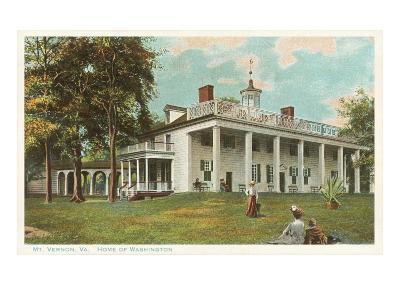 Mt. Vernon, Virginia--Art Print