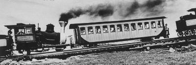Mt. Washington Cog Railroad Built in 1869-Dmitri Kessel-Photographic Print