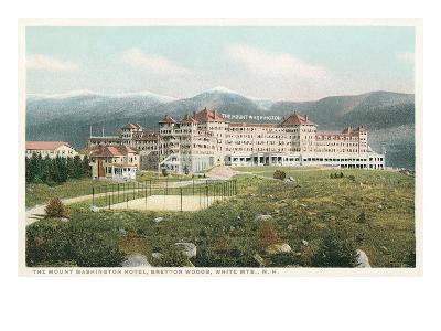Mt. Washington Hotel, Bretton Woods, New Hampshire--Art Print