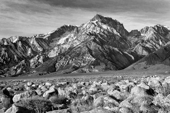 Mt Williamson II BW-Douglas Taylor-Photo