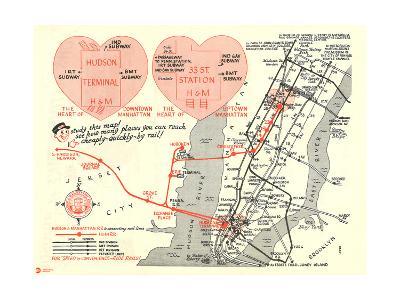MTA Hearts--Art Print