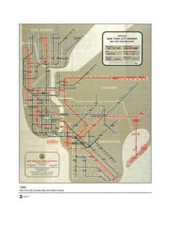 MTA Map 1958