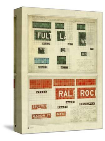 MTA Mosaic Drawings Vintage