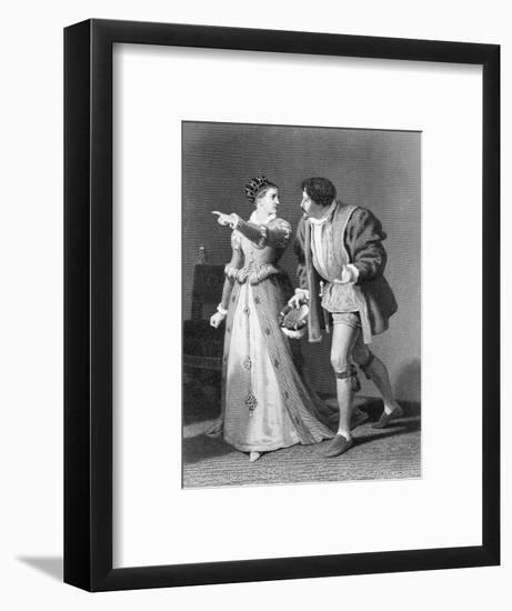 Much Ado About Nothing by William Shakespeare-Rudolf Eichstaedt-Framed Giclee Print