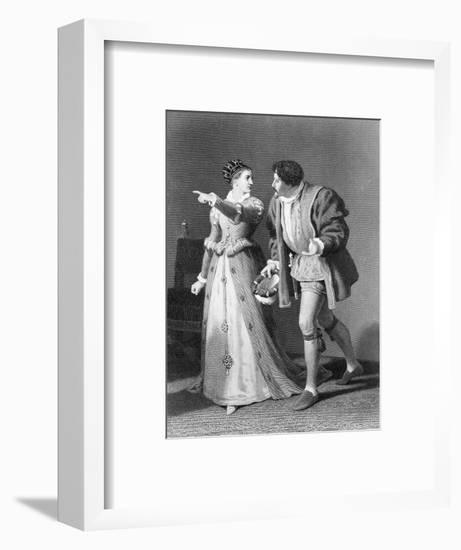 Much Ado About Nothing by William Shakespeare-Rudolf Eichstaedt-Framed Giclee Print