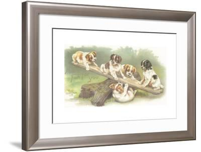 Much Fun for You--Framed Giclee Print