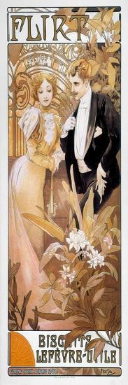 Mucha: Biscuit Ad, C1895-Alphonse Mucha-Giclee Print