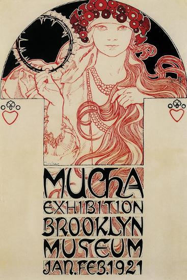 Mucha Brooklyn Exhibition--Giclee Print