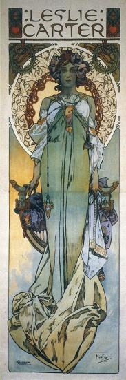 Mucha: Theatrical Poster-Alphonse Mucha-Giclee Print