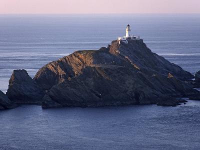 Muckle Flugga and its Lighthouse, Hermaness Nature Reserve, Unst, Shetland Islands, Scotland-Patrick Dieudonne-Photographic Print