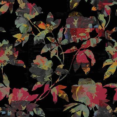 Mudan Silhouette Floral-Bill Jackson-Giclee Print