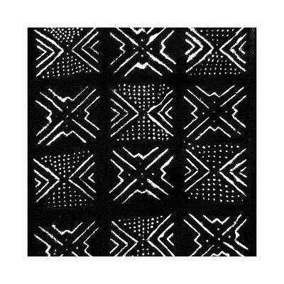 Mudcloth Black IV-Ellie Roberts-Giclee Print