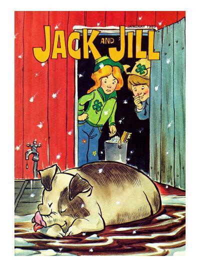 Muddy Bath - Jack and Jill, January 1985--Giclee Print