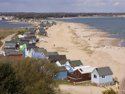 Mudeford Spit or Sandbank, Christchurch Harbour, Dorset, England, United Kingdom, Europe-Rainford Roy-Photographic Print
