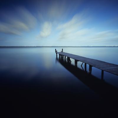 Muelle Azul Crop-Moises Levy-Photographic Print