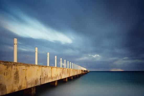 Muelle Playa 1 Color-Moises Levy-Photographic Print