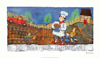 Muffin Man-Barbara Olsen-Art Print