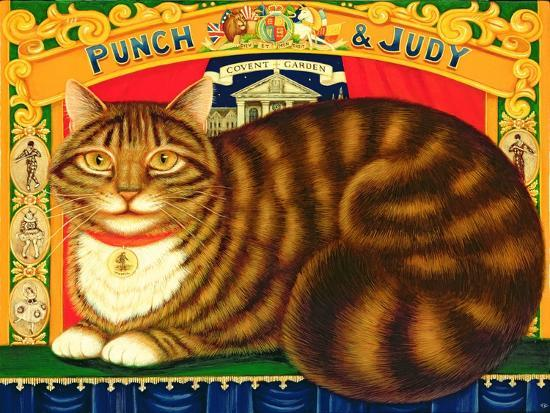 Muffin, the Covent Garden Cat, 1996-Frances Broomfield-Giclee Print